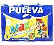 Leche de crecimiento, enriquecida con calcio, hierro, 12 vitaminas y Omega 3, para mayores de 3 años 6 x 1 l Puleva Max