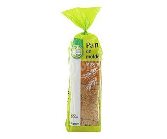 Productos Económicos Alcampo Pan de molde integral 500 gramos