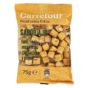 Carrefour Picatostes fritos sabor a ajo 75 g