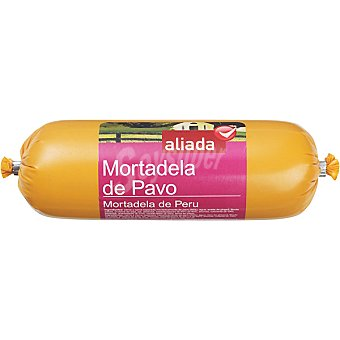 Aliada Mortadela de pavo  Pieza 400 g