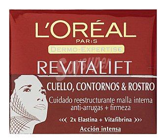 L'Oréal Crema Antiarrugas, Dermo Expertise-Revitalif (rostro, Contorno Rostro) 50 Mililitros
