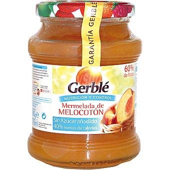 Gerblé Mermelada de melocotón sin azúcar añadido Envase 380 g
