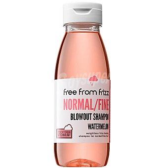 FREE FROM FRIZZ Champú cabello fino con extracto y aroma de sandía Frasco 330 ml