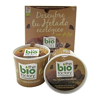 Bio factory Helado mousse chocolate con cookies - Sin Gluten 4 ud
