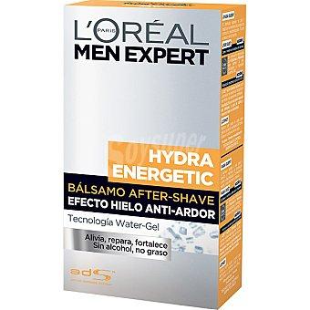 L'OREAL MEN EXPERT HYDRA ENERGETIC BALSAMO AFTER SHAVE EFECTO HIELO ANTI-ARDOR Frasco 100 ml efecto hielo Frasco 100 ml