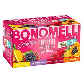 Bonomelli Colección de infusiones de fruta en Bolsitas 20 ud