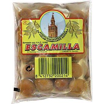 Escamilla Aceitunas manzanilla morada bolsa 95 g neto escurrido Bolsa 95 g neto escurrido
