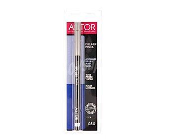 Astor Perfilador de ojos punta suave color 080 de trazo preciso y nítido 1 unidad