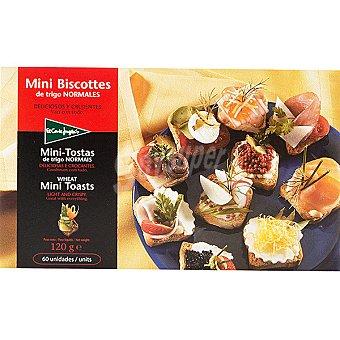 El Corte Inglés Mini biscotes de trigo Estuche 120 g
