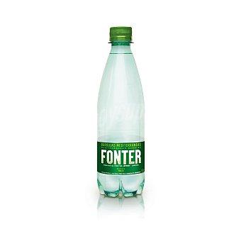 Fonter Agua mineral con gas Botella 50 cl
