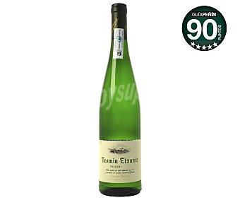 TXOMIN Vino Blanco Txacoli Botella 75 Centilitros