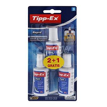 Tipp-Ex Corrector Botes Tipp-Ex Líquido 20 Ml Bl2+1 Corrector Botes Líquido 20 Ml Bl2+1 tipp-ex 3 ud