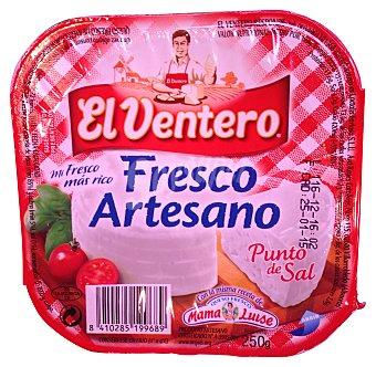 El Ventero Queso fresco artesano al punto de sal Tarrina 250 g