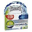 Recambio maquinilla de afeitar Hydro 5 Sensitive Estuche 4 unidades Wilkinson