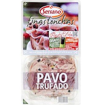 Carnicas Serrano Pavo trufado finas lonchas Pack 2x60 g