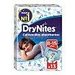 Calzoncillos para niños absorbentes de 8 a 15 años Paquete 13 u DryNites