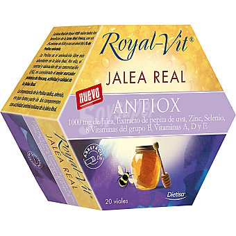 ROYAL-VIT Antiox jalea real con extracto de uva y vitaminas  envase 480 g
