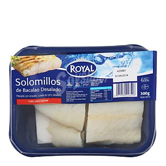 Royal Bacalao solomillos desalados 300 g