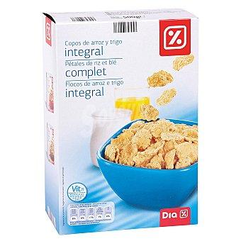 DIA Cereales en copos de arroz y trigo integral 500 gr