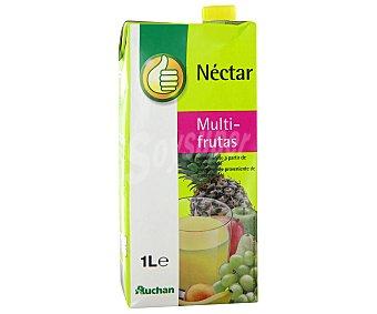 Productos Económicos Alcampo Néctar multifrutas (naranja, manzana, piña, mango, uva, melocotón. maracuyá, pera, plátano y albaricoque) 1 litro