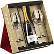 Special Cuvee champagne Estuche botella 75 cl con regalo de 2 copas botella 75 cl Bollinger