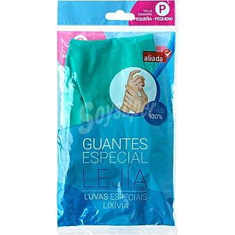 Aliada Guantes nitrilo especial lejía talla pequeña Bolsa 2 unidades
