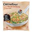 Salteado verdura con bacón Carrefour 450 g Carrefour