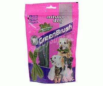 MISTER DOG Snack para Perros Dental Green 7 Unidades de 25 Gramos