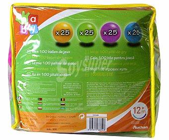 BABY Bolsa de 100 Bolas de Colores 1 Unidad