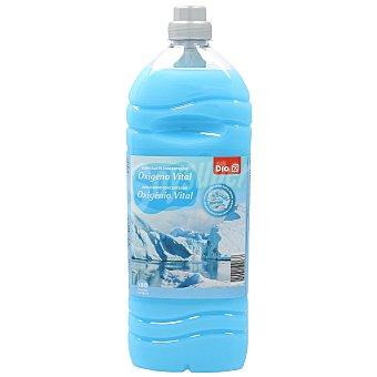 DIA Suavizante concentrado con microcápsulas oxigeno vital Botella 80 dosis