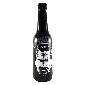 Cervezas El Oso y El Cuervo Cerveza artesana Stout Barrel Aged Kelevra 33 cl