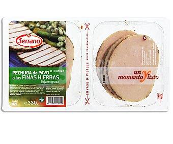 Serrano Pechugas de pavo a las finas hierbas 330 gramos