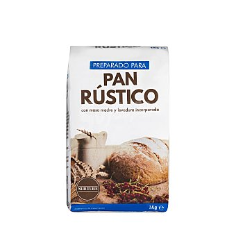 Nurture Preparado para pan rústico Paquete 1 kg