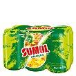 Zumo de piña Pack de 6 latas de 33 cl Sumol