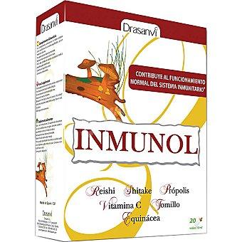 DRASANVI Inmunol Contribuye al funcionamiento normal del sistema inmunitario Envase 20 unidades