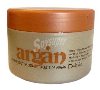 Deliplus Crema corporal aceite argan Tarro 200 cc