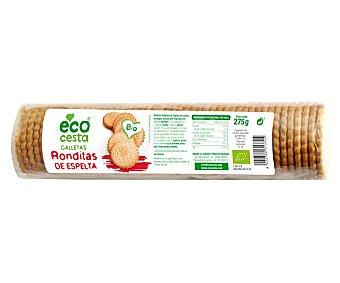 Ecocesta Galletas ronditas de espelta Bio 275 g