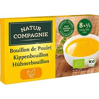Natur Compagnie Caldo de pollo ecológico en pastillas sin aceite de palma  caja 88 g