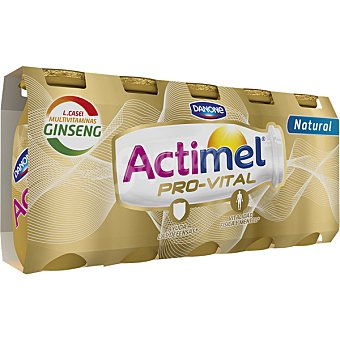 Danone Yogur líquido natural con ginseng  5 unidades de 100 g