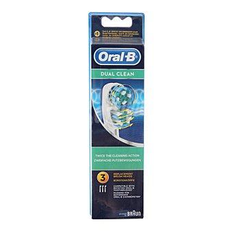 Braun Recambio dental eb4 17-3 dual clean braun