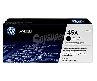 HP Toner 49A, Negro, compatible con impresoras: Laserjet 1160/ 1320/ 3390/ 3392, Laserjet smart 1320/ 1320N/ 1320NW/ 1320TN
