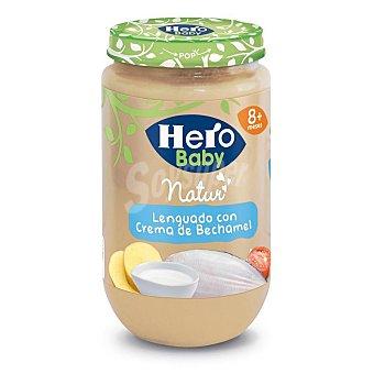 Hero Baby Tarrito de lenguado con crema de bechamel Natur desde 8 meses  envase 235 g