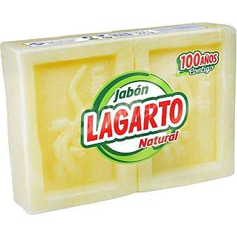 Lagarto Jabon para lavar a mano puro pack 2 pastilla 150 g Pack 2 pastilla 150 g