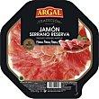 Plato de jamón Bandeja 80 g Argal