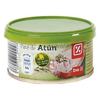 DIA Paté de atún en aceite de oliva Lata 85 gr