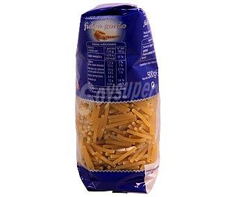 Auchan Fideos gordos, pasta de sémola de trigo duro de calidad superior Paquete de 500 gramos