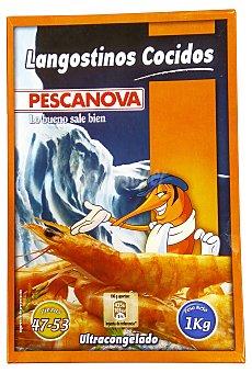 Pescanova Langostino congelado cocido grande (40/60 piezas/ kg) 250 g