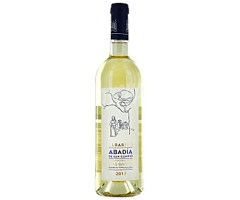 Abadía de San Campio Vino blanco albariño D.O. Rias Baixas Botella de 75 cl