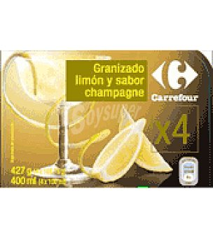 Carrefour Granizado champagne 4 ud