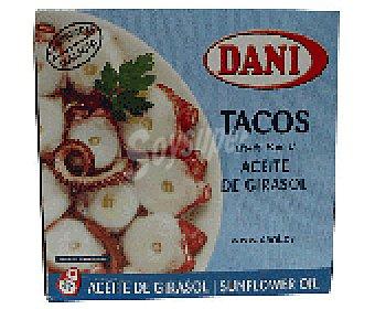 Dani Tacos pulpo en aceit 75 GRS